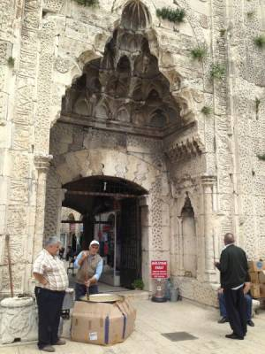MAKING HELVA AT THE MEDRESE